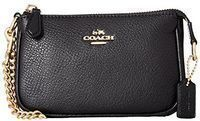 Coach Pebble Leather Small Wristlet