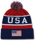 USA Flag Team Beanie