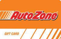 $100 Autozone Gift Card