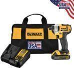 DeWalt DCF885C1 20V Max 1/4 Impact Driver Kit