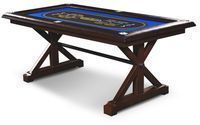 Barrington Premium Solid Wood Poker Table