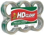 6-Pack Duck HD Clear Heavy Duty Packaging Tape Refill