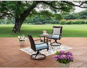 Better Homes and Garden Piper Ridge 3-Pc. Wicker Bistro Set