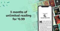 3 Months Kindle Unlimited