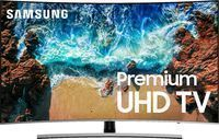 Samsung 55 NU8500 Series Curved 4K Smart TV w/ HDR