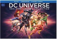DC Universe 10th Anniversary Blu-Ray Set (30-Movies)