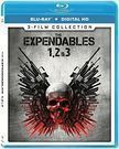 Expendables 1, 2, & 3 Collection - Blu-rauy