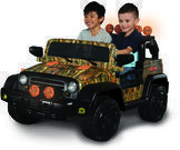 Dynacraft 12-volt Jeep 4x4 Ride-On