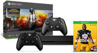 Xbox One X 1TB PUBG Bundle + Madden 19 + Extra Controller