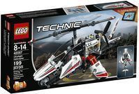 Lego Technic Ultralight Helicopter Building Set