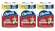 24-Ct Charmin Mega Plus Toilet Paper Rolls + $10 Target GC