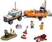 LEGO City Coast Guard 4x4 Response Unit Building Set