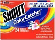Shout Color Catcher Sheets - 24ct +$5 Target Gift Card