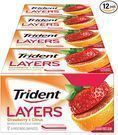 12-Pack 14-Count Trident Layers Sugar Free Gum