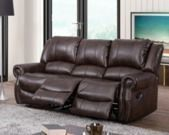 Turner Triple Reclining Fabric Sofa